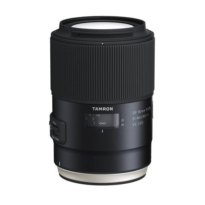 TAMRON SP F017 90 mm f/2.8 Di Macro VC USD