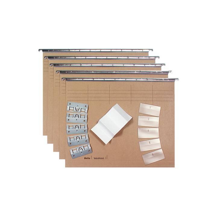 Set di cartelle sospese BIELLA A4 5 pezzi