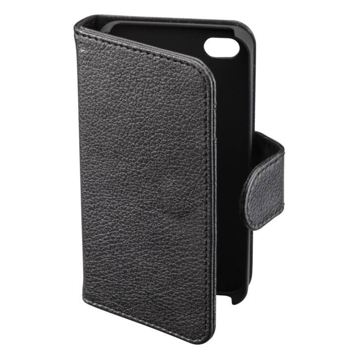 INTERTRONIC Walletcover iPhone 5/5S/SE black