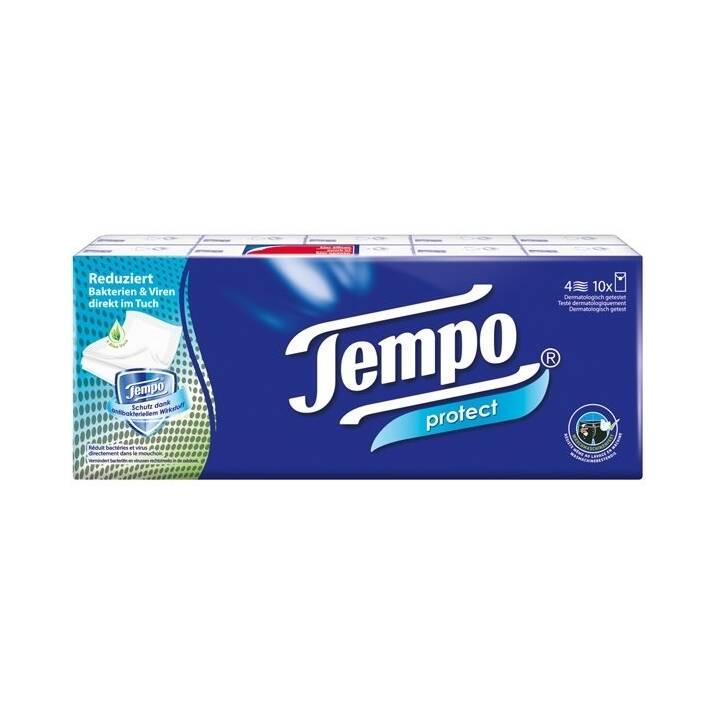 TEMPO Mouchoir Protect (10 pièce)