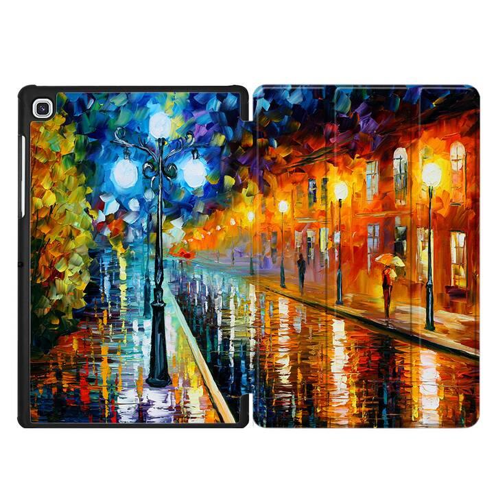 """EG MTT Housse pour Samsung Galaxy Tab S5e 10.5"""" 2019 - canvas landscape"""