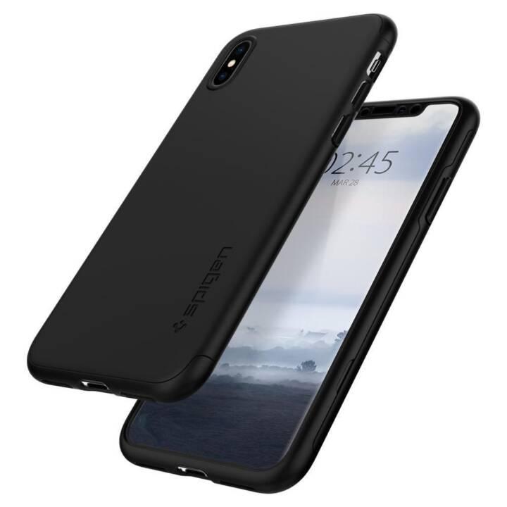 SPIGEN Couverture arrière Thin Fit 360 iPhone XS