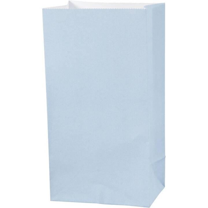 CREATIV COMPANY sacs en papier bleu, 10 pièces