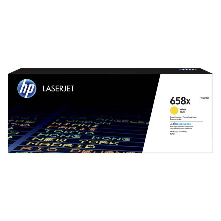 HP 658X (Cartouche individuelle, Jaune)