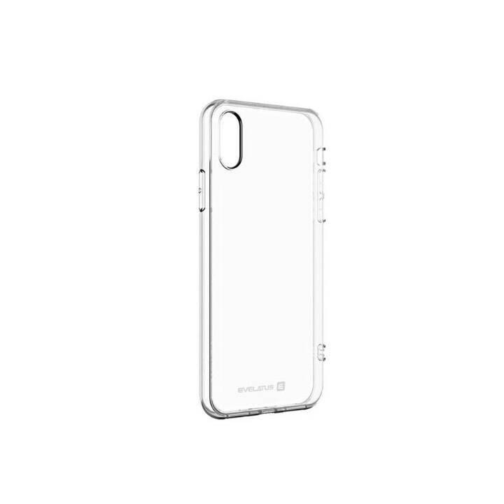 EVELATUS Backcover TPU (Galaxy A9 (2018), Transparent)