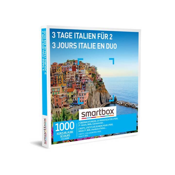 SMARTBOX 3 Tage Italien für 2