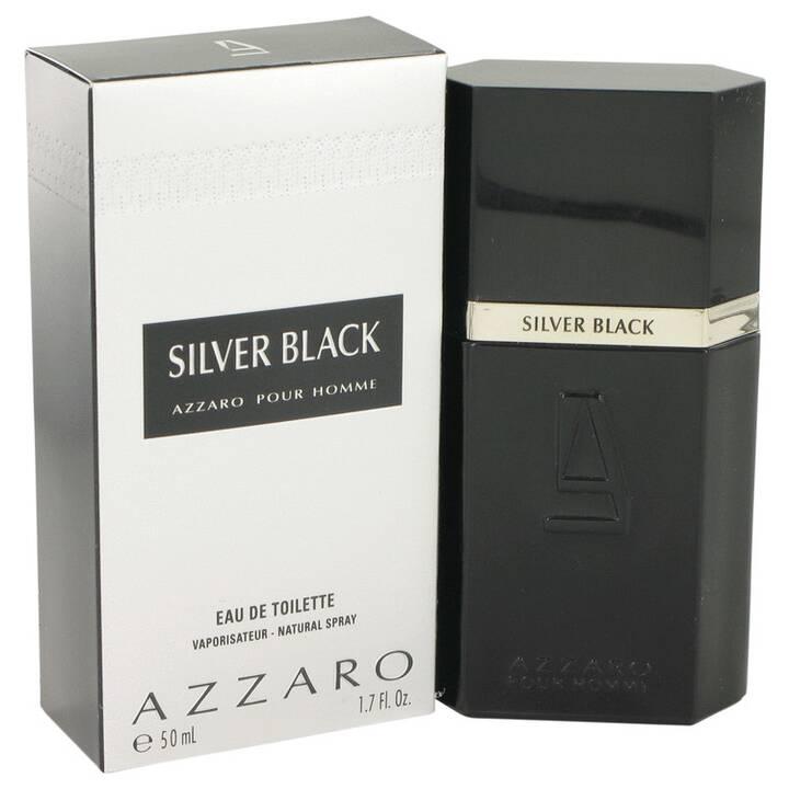 AZZARO Silver Black (50 ml, Eau de Toilette)