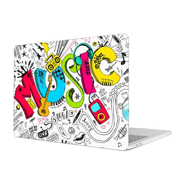 """EG MTT Hülle für Macbook Pro 13"""" Touchbar (2016 - 2018) - Musik"""