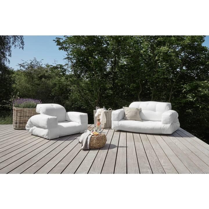 KARUP DESIGN Hippo Out Sofa (Polyacrylnitril, Weiss, 140 cm x 100 cm)