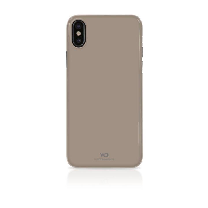 DIAMANTS BLANCS Housse ultra fine glacée pour Apple iPhone X/Xs