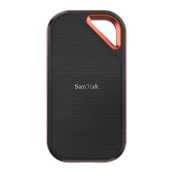 SANDISK Extreme Pro (USB 3.1, 500 GB, Schwarz, Orange)