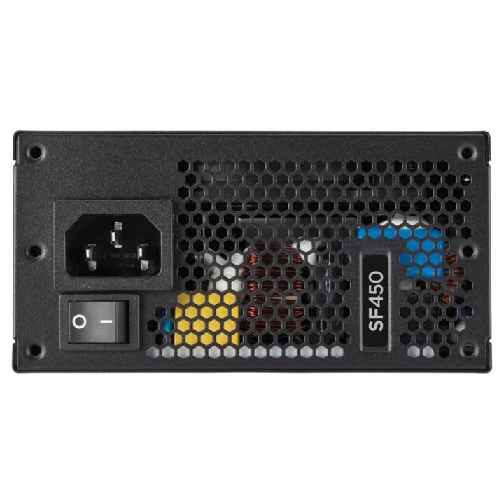 CORSAIR SF450 SFX Alimentazione, 450 W, nero