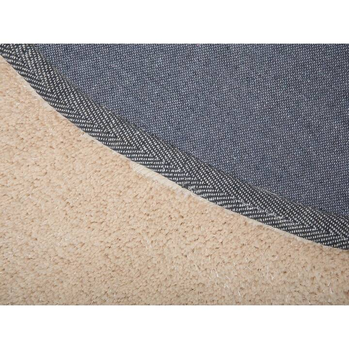 BELIANI Teppich Demre (140 cm x 140 cm, Beige)