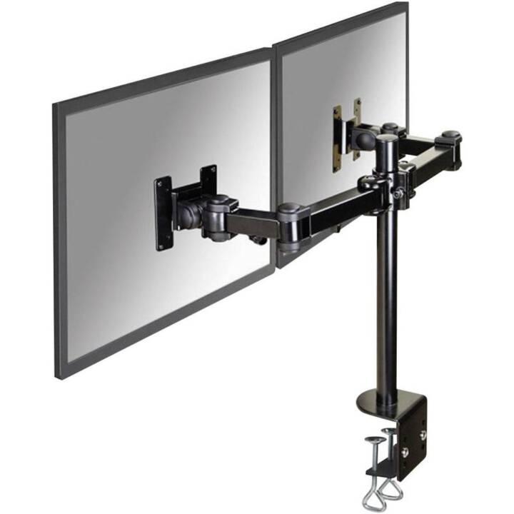 NEWSTAR 2-Flachbildschirm-Tischhalterung