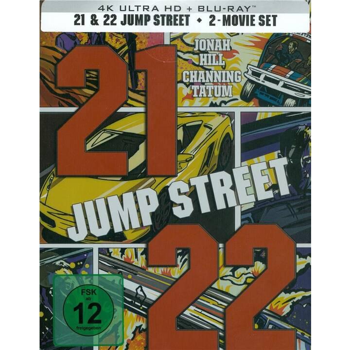 21 Jump Street & 22 Jump Street (Steelbook, DE, EN)