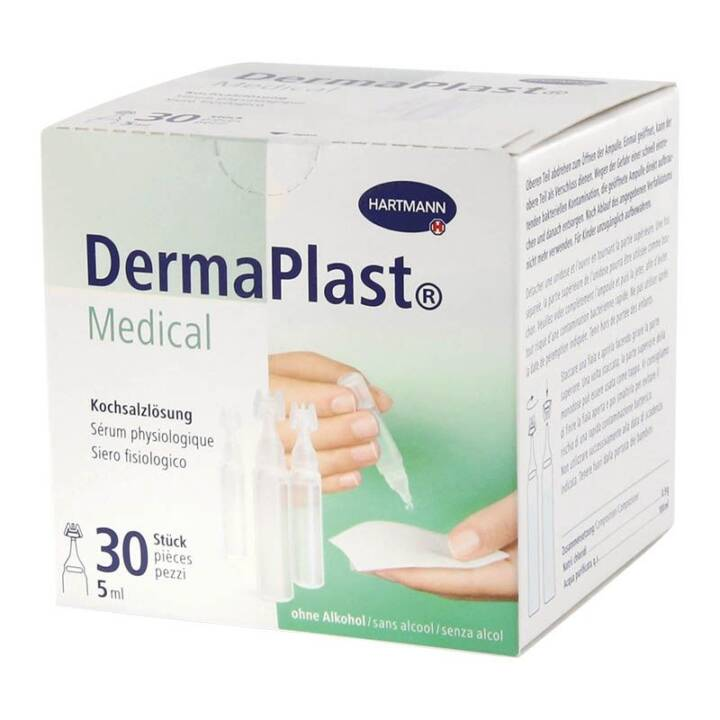 DERMAPLAST Medical sérum phys 30 x 5 ml