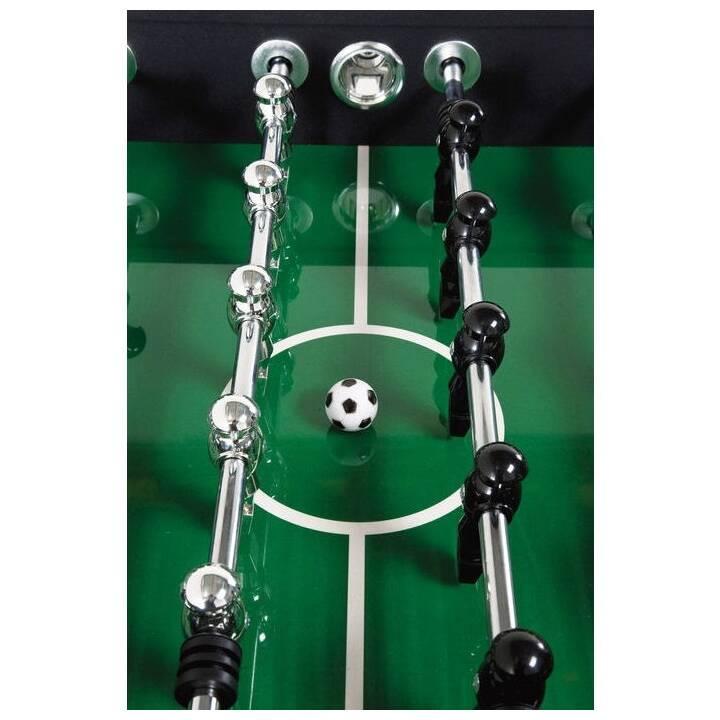 KARE Style Table calciobalilla (Pannello di fibra a media densità (MDF), Acciaio Inox, Plastica)
