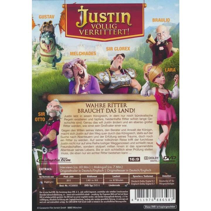 Justin - Völlig Verrittert! (EN, DE)