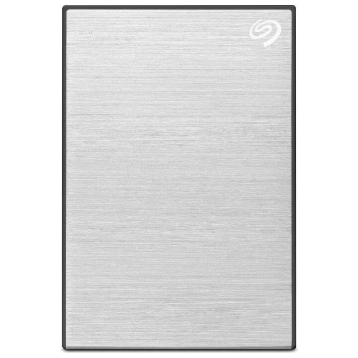 SEAGATE One Touch Portable (USB 3.2, 2 TB, Argento)