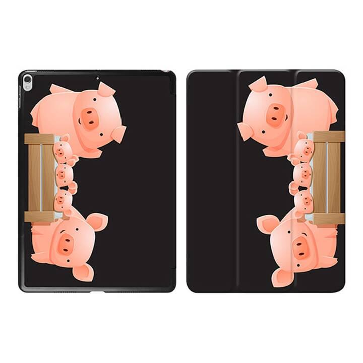 """EG iPad Sleeve pour Apple iPad Pro 10.5"""" 10.5"""" 10.5"""" - cochons noirs de dessin animé"""