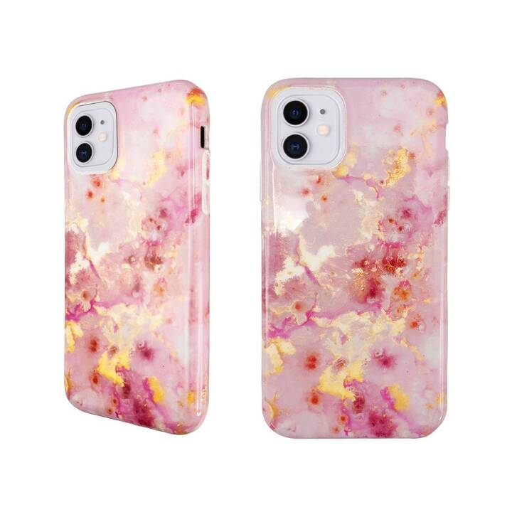 UUNIQUE Backcover Eco Friendly Printed Pink Marble (iPhone 11, Pink)