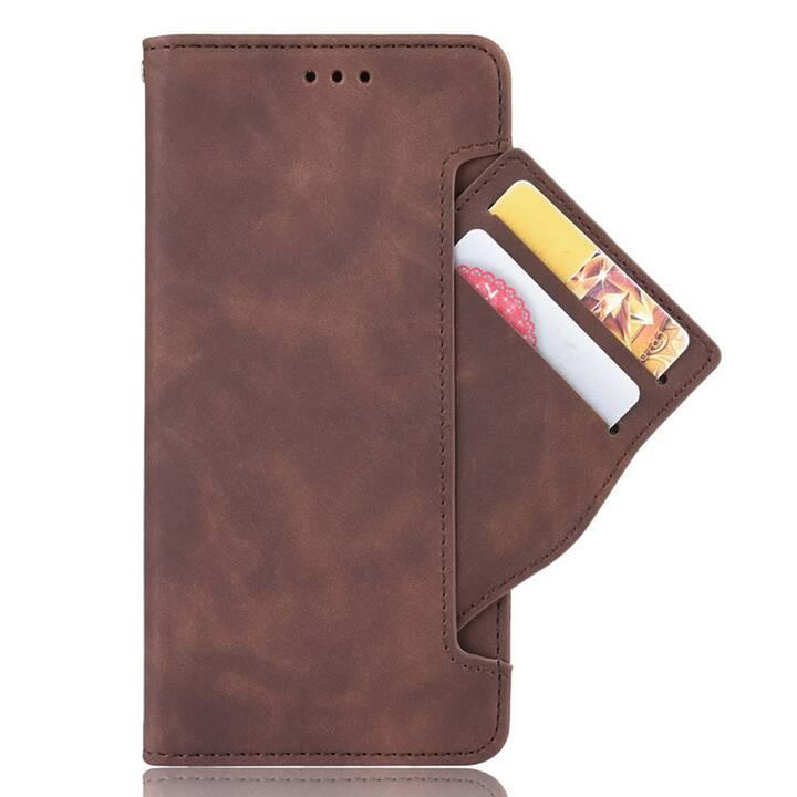 """EG Mornrise custodia a portafoglio per Samsung Galaxy S20 Plus 6.7"""" 2020 - marrone"""