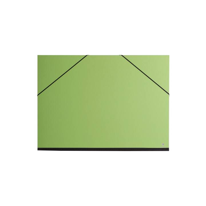 Portefeuille CLAIREFONTAINE, A3+, vert
