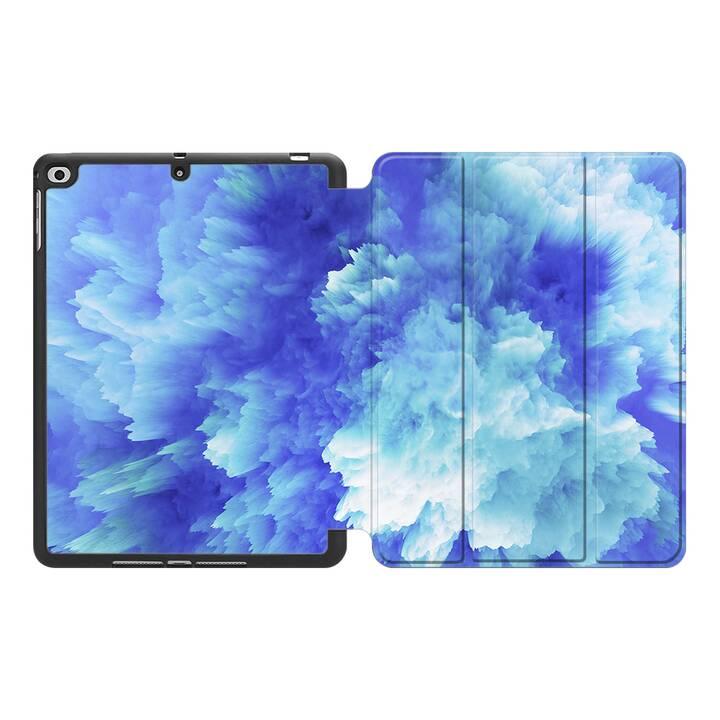 """EG MTT Coque pour Apple iPad Pro 2017 10.5"""" - Bleu"""