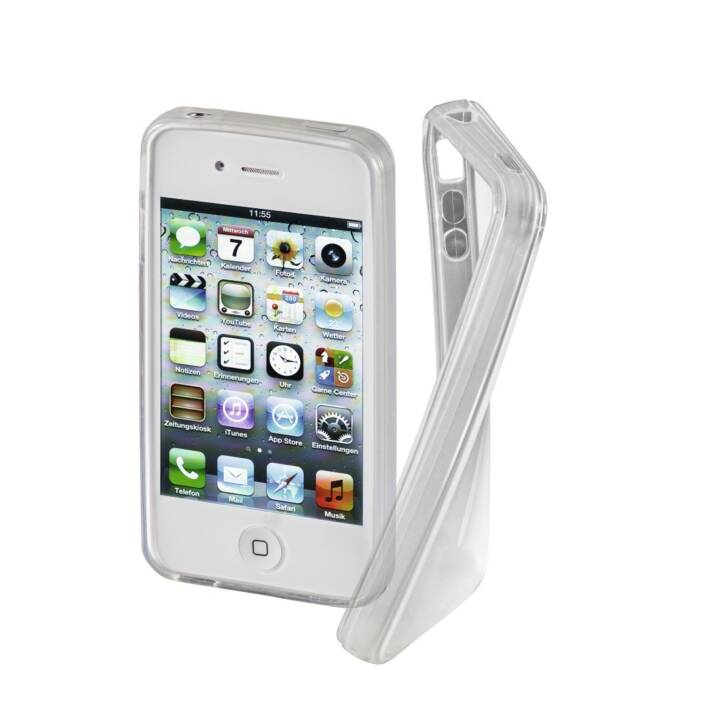 HAMA Backcover Crystal (iPhone 4s, iPhone 4, Transparent)