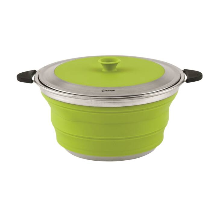 OUTWELL Pentole outdoor Collaps (Verde, Nero, 4.5 l)