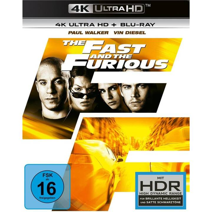 The Fast and the Furious (4K Ultra HD, DE, EN)