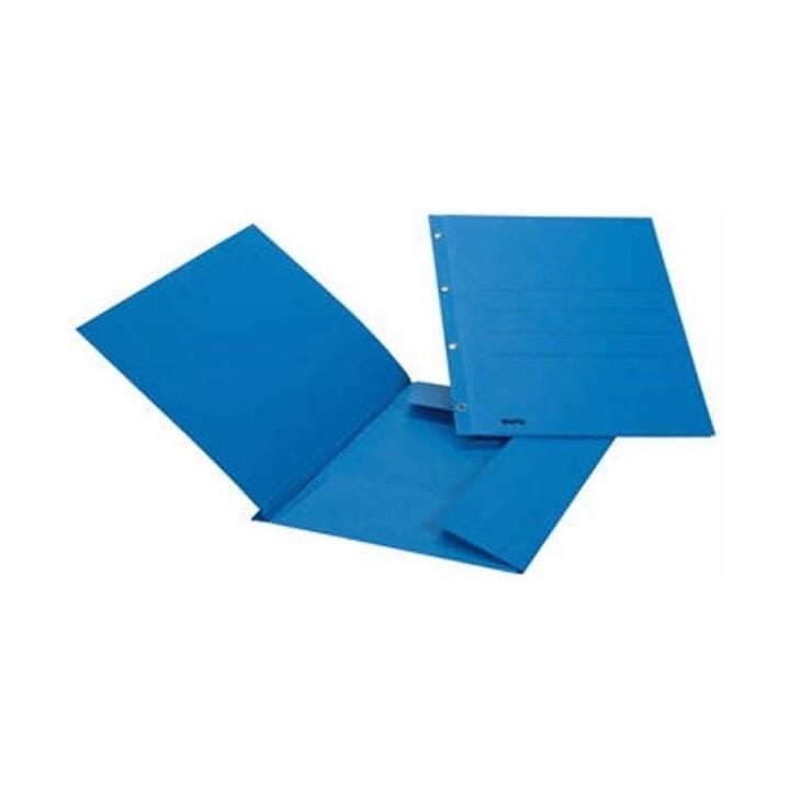 Raccoglitore di file BIELLA Eyelet A4 blu