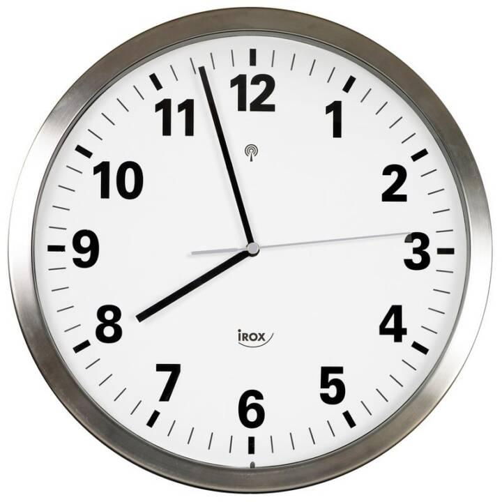 IROX LUNA5-2 Horloge murale ronde métallique