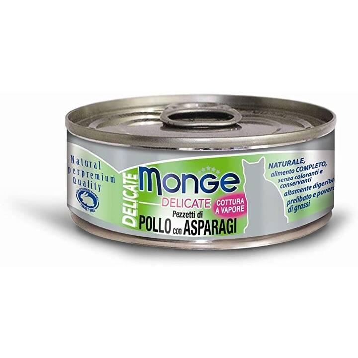 MONGE Delicate Cat (Adult, 80 g, Huhn)