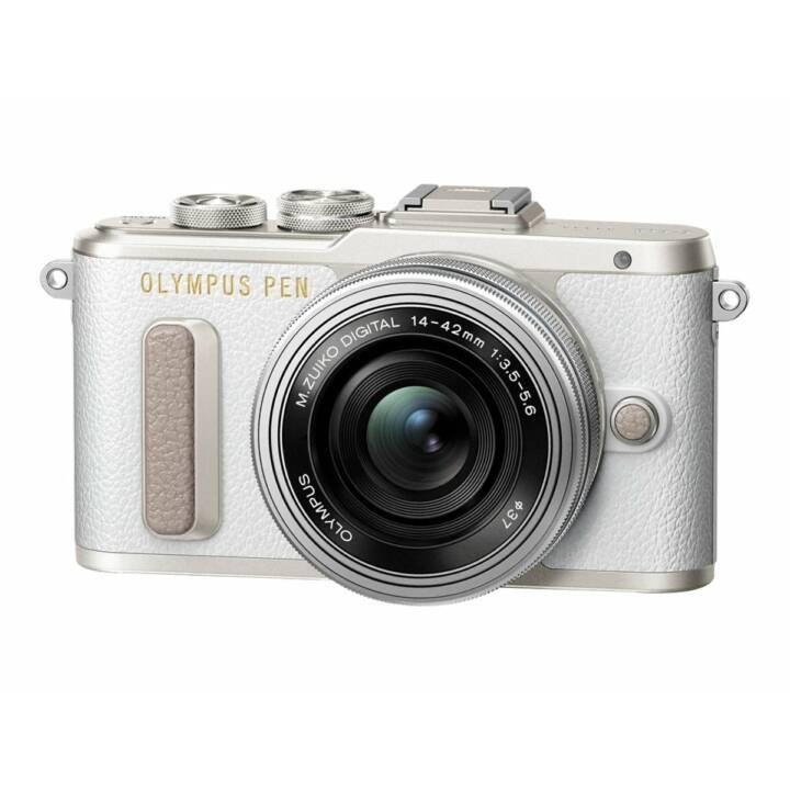 OLYMPUS E-PL8 + M.Zuiko Digital ED, objectif 14 - 42 mm EZ