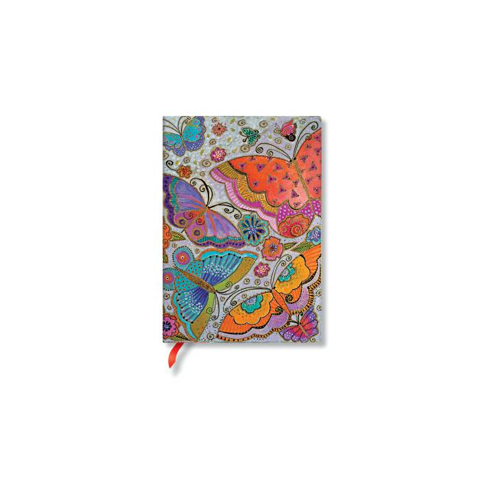 PAPERBLANKS Papillons Papillons Midi lin. 130x180mm, 240 p.