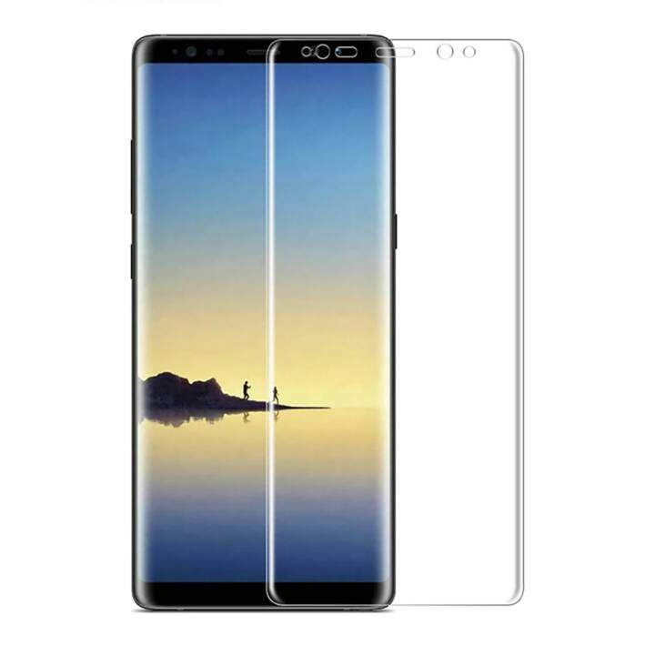EG Mornrise Displayschutzfolie für Samsung Galaxy S9 Plus Durchsichtig 2St