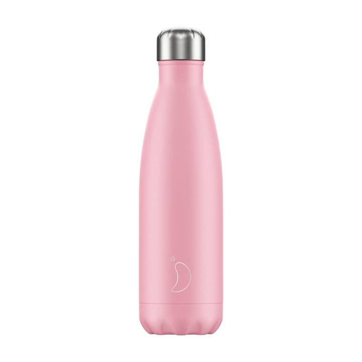 CHILLY'S Thermo Trinkflasche Pastel (500 ml, Pink)