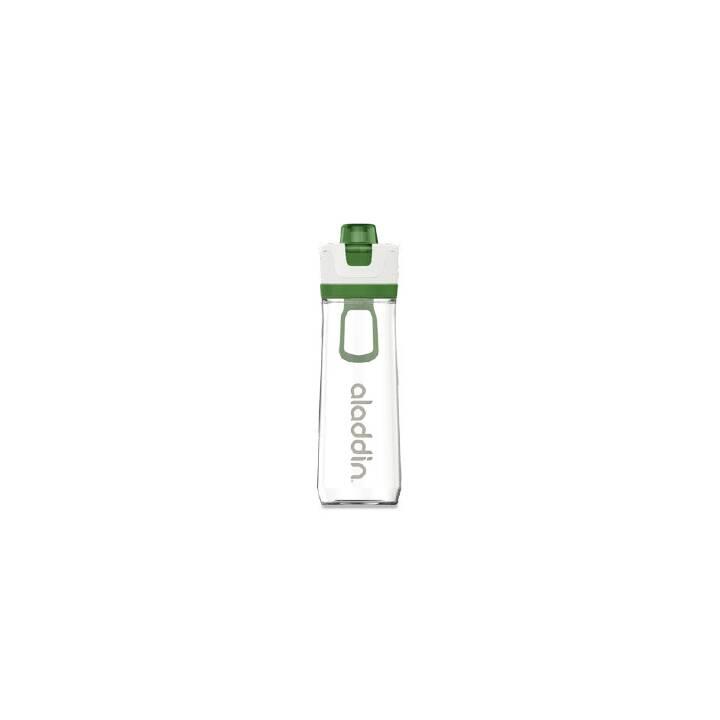 ALADDIN Bottiglia sportiva Active Hydration (0.8 l, Verde, Transparente, Bianco)