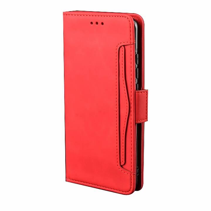 """EG MORNRISE étui portefeuille pour Samsung Galaxy Note 10 6.3"""" 2019 - Rouge"""
