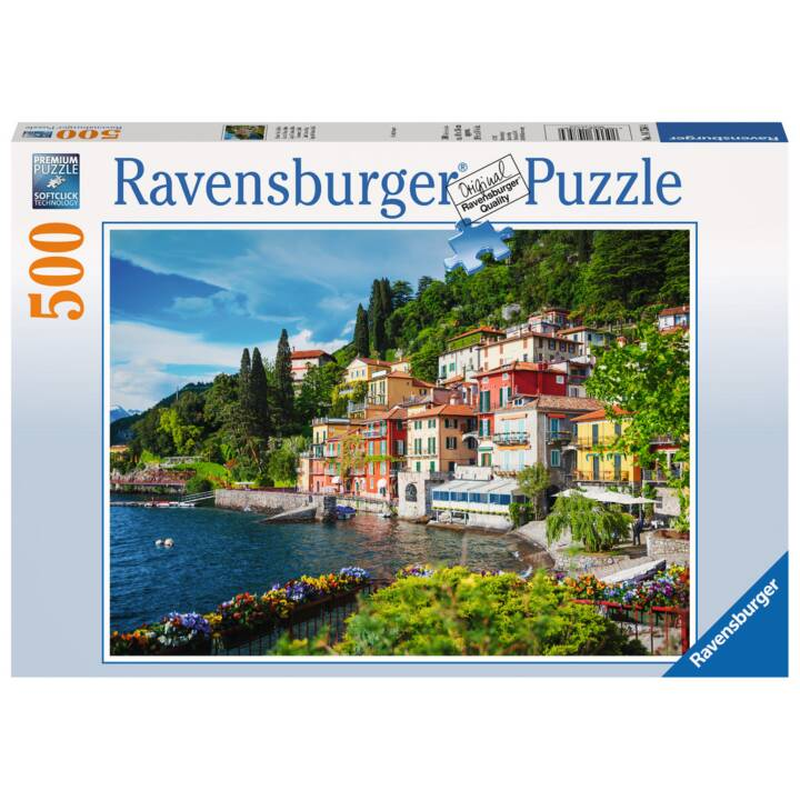 RAVENSBURGER Lake Como, Italie Puzzle, 500 pcs.