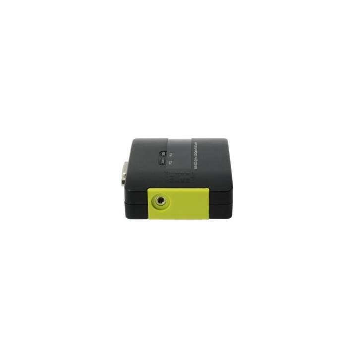 LEVELONE KVM-0223 KVM/Audio-Switch