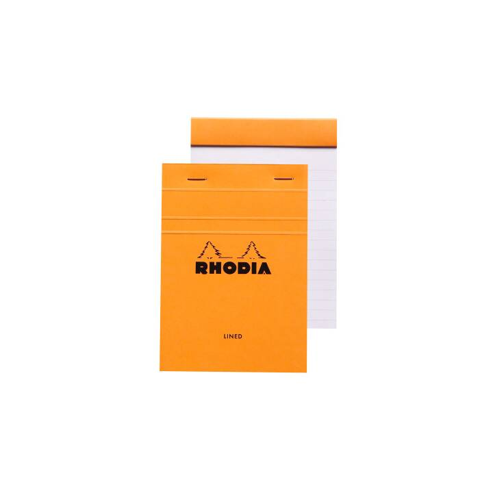 RHODIA Notizblock, A6, Orange