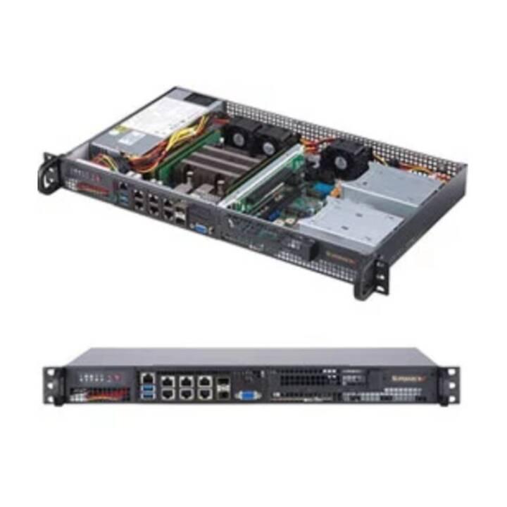 SUPER MICRO SuperServer 5019DFN8TP Montaggio su rack Xeon D-2146NT 0 GB 0 GB 0 GB 0 GB GB