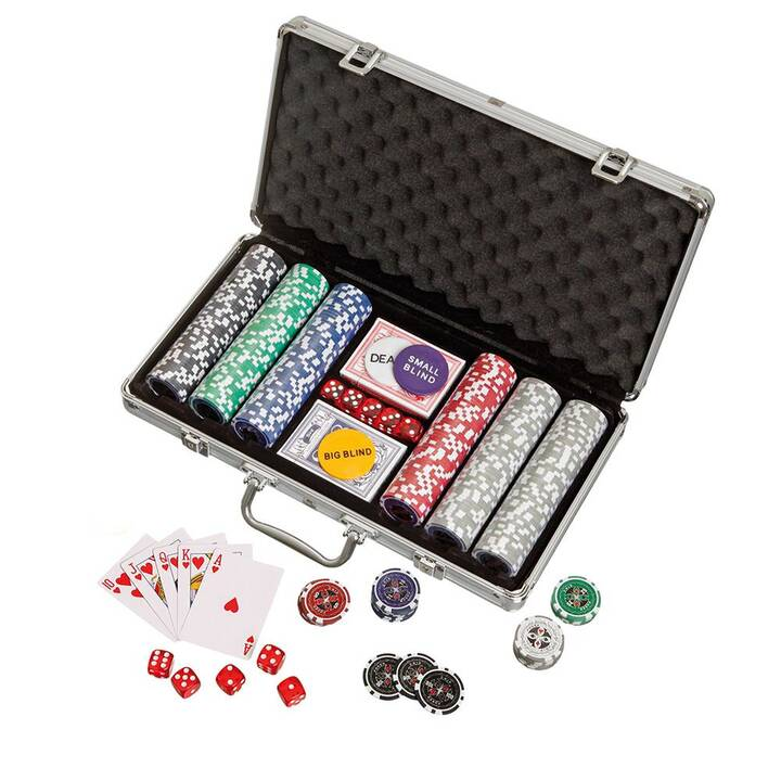 PHILOS Poker Koffer 300 (DE) (593757)