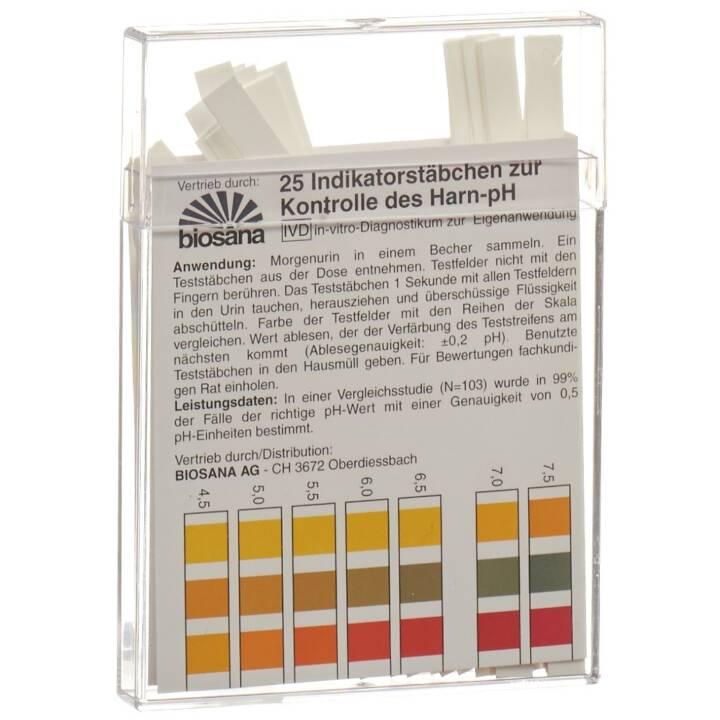 BIOSANA pH 4.5-9.25 Striscia reattiva (25 pezzo)