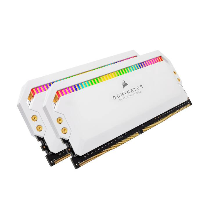 CORSAIR CMT16GX4M2Z3200C16W (2 x 8 Go, DDR4-SDRAM, DIMM 288-Pin)