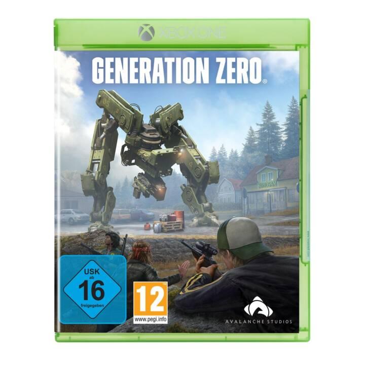 THQ Generation Zero (Inglese)