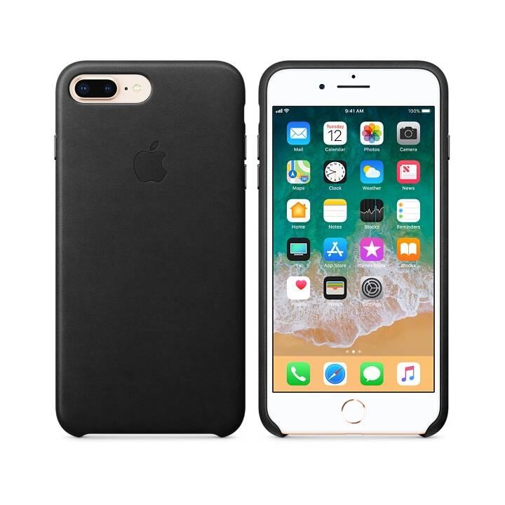 APPLE iPhone 8 Plus / 7 Plus Leder Case Schwarz