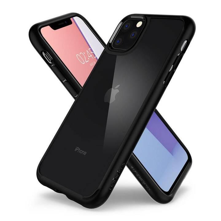 SPIGEN Backcover Ultra Hybrid (iPhone 11 Pro Max, Schwarz)